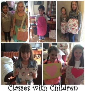 Classes with children gallery