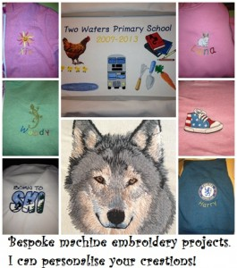 Gallery embroidery projects