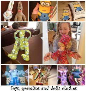 Gallery toys, gremlins & dolls clothes